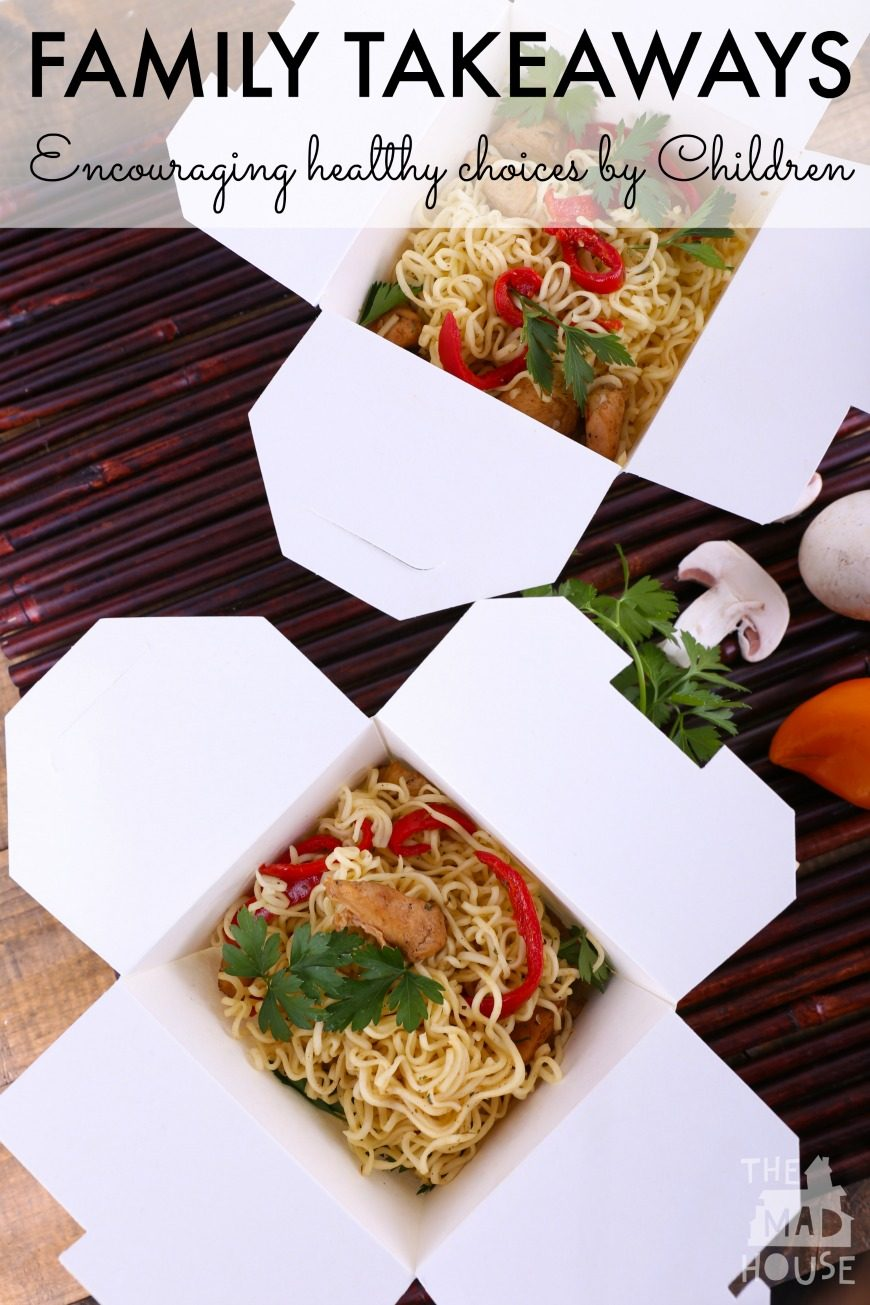 Family Friday Night Takeaway – My Top Tips For Ordering. How to encourage children to make healthy choices when choosing a takeaway.
