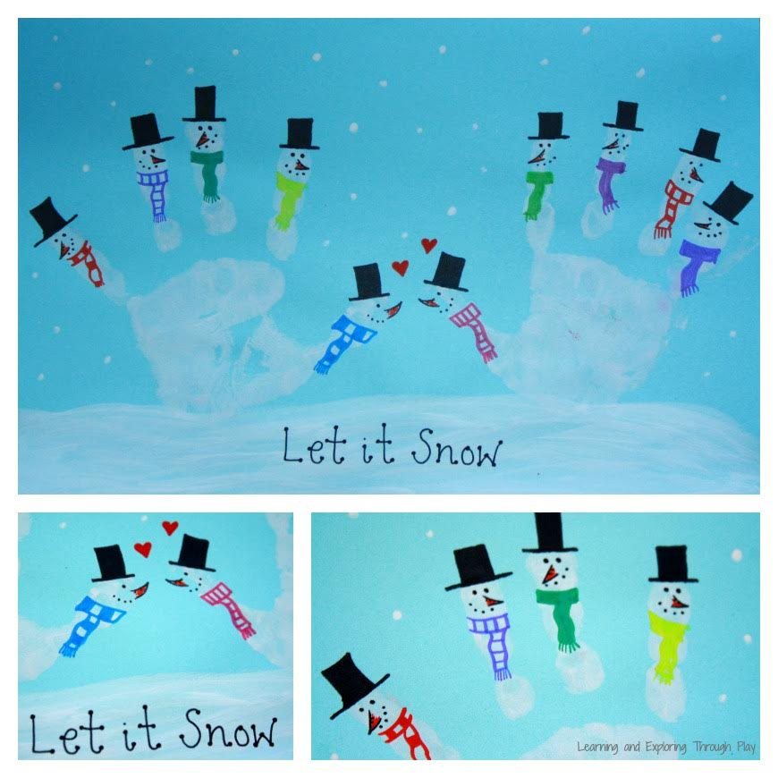 Snowman Christmas Cards Ideas.Kid Made Christmas Card Series Mum In The Madhouse