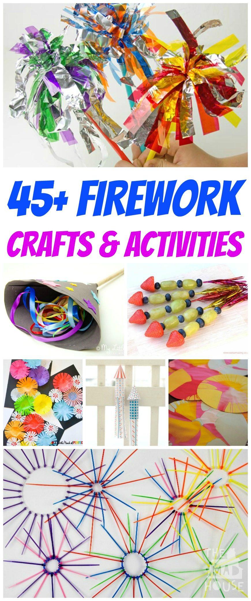 Bonfires Arts And Craft Ideas