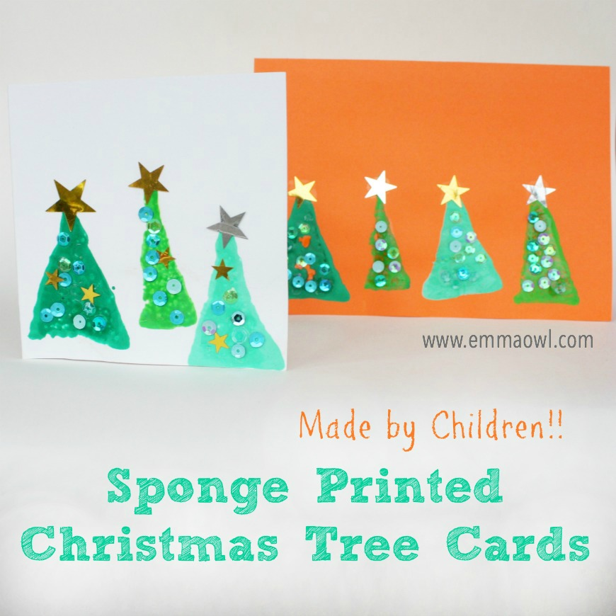 Kid Made Christmas Card Series - Mum In The Madhouse