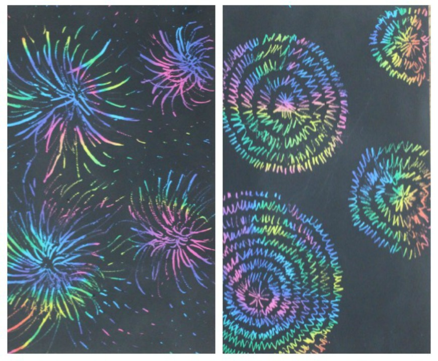 Fireworks Arts And Craft Ideas