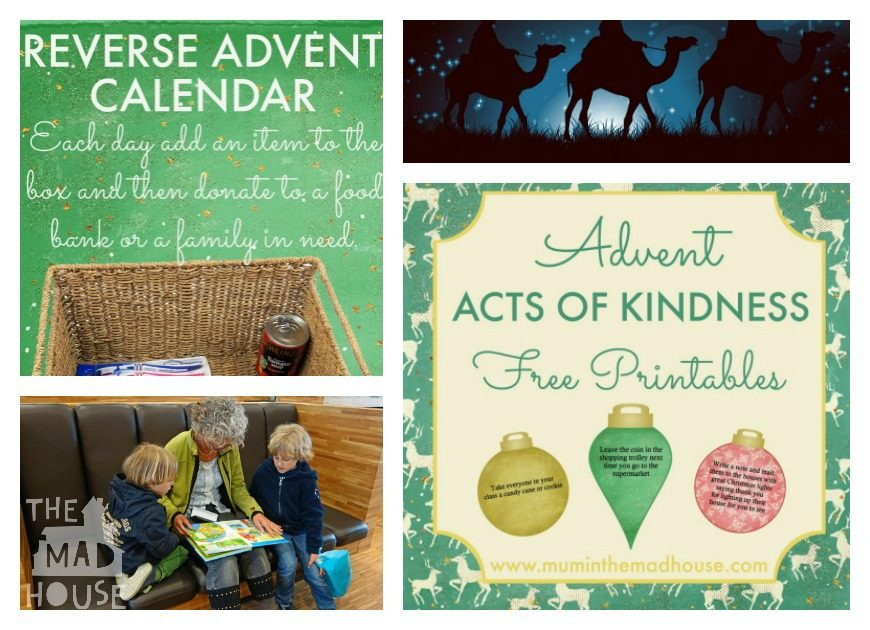 Reverse Advent Calendar Ideas : Over christmas decorations crafts and gifts kids can