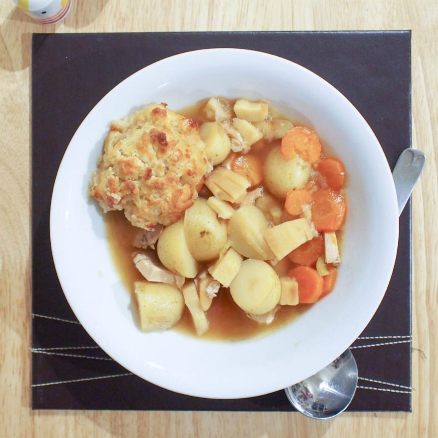 Waste-busting, family friendly bubble and squeak soup. This delicious and healthy family meal is simple to make and a great way of using leftovers.