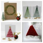 Simple Homemade Christmas Cards for Kids