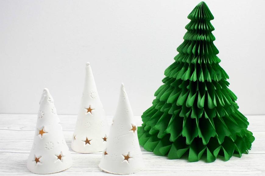 DIY Christmas Tree Luminaries