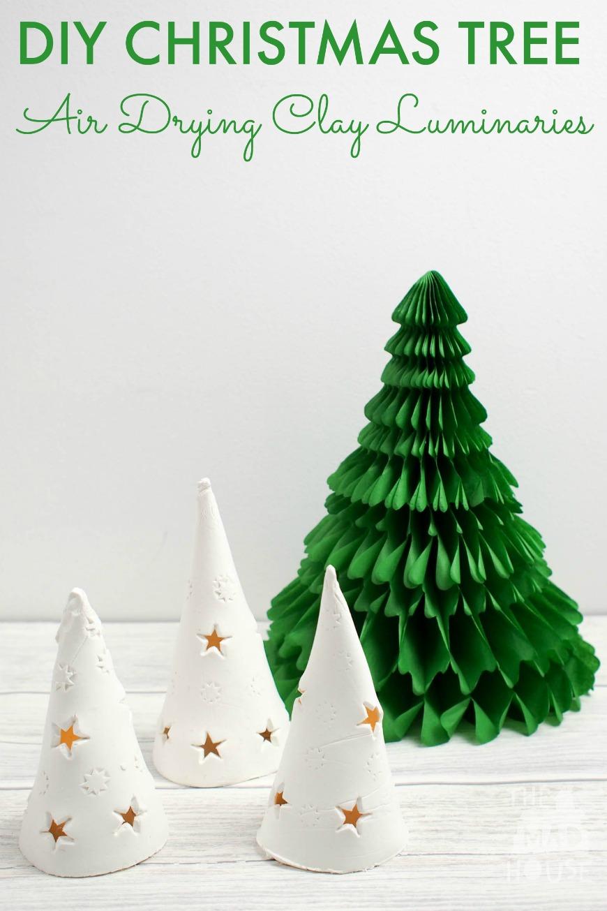 DIY Christmas Tree Luminaries - Mum In The Madhouse