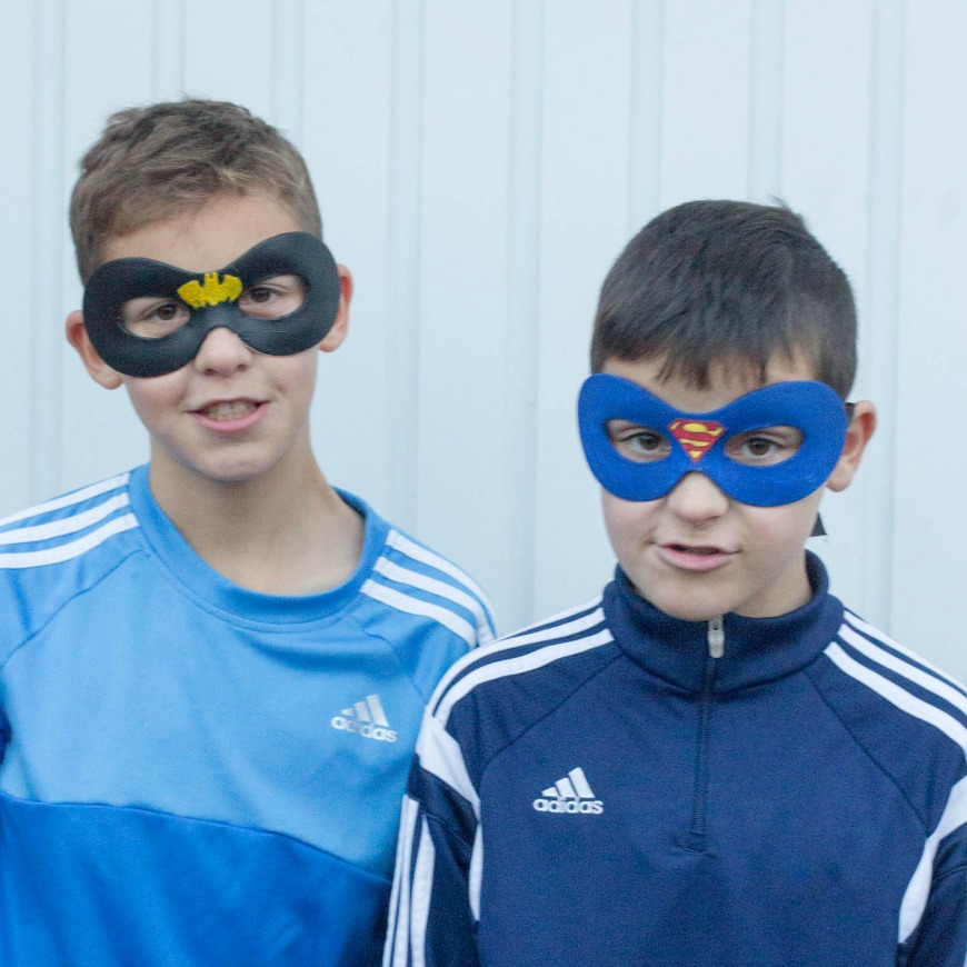 Diy Superhero Masks Crafting With Tweens Mum In The Madhouse