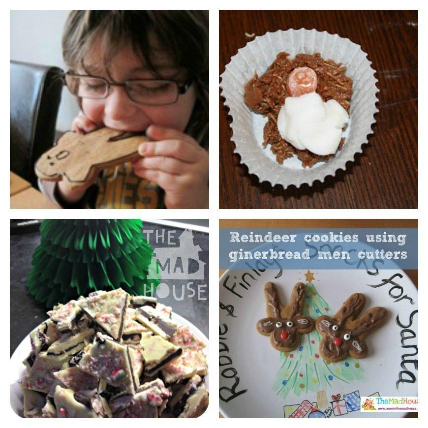 Jesus Jelly Peppermint Bark Reindeer Cookies Gingerbread