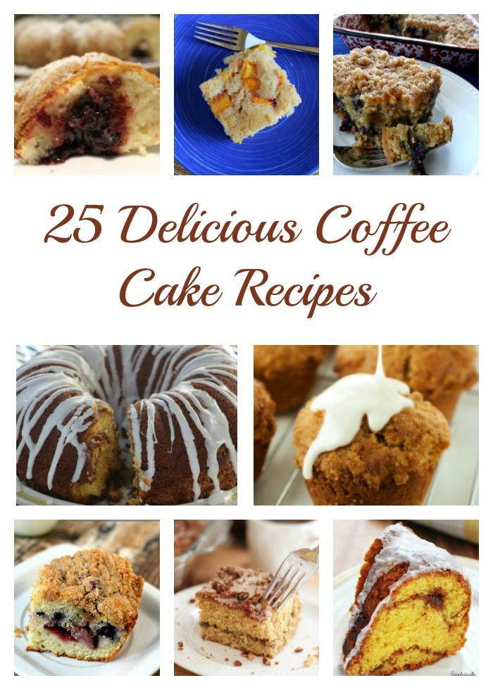 25 Delicious Coffee Cake Recipes