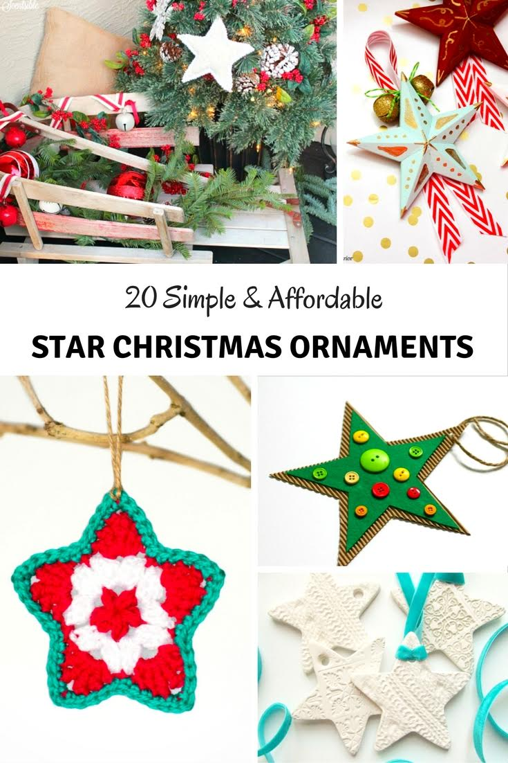 20 Simple Nail Designs For Beginners: 20 Simple & Affordable DIY Star Christmas Ornaments