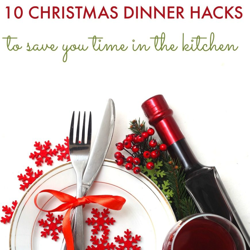 10 Genius Christmas Dinner Hacks to save you time in the kitchen. These amazing tips will make Christmas Day so much more fun for all the family.
