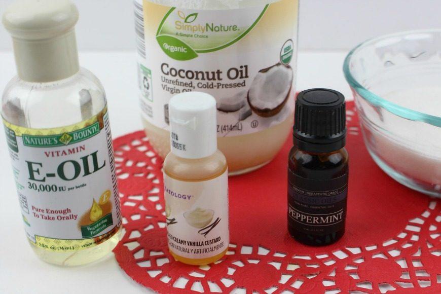 DIY Vanilla Peppermint Lip Scrub