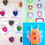 20 Cute and Fun Valentine's Day Heart Crafts