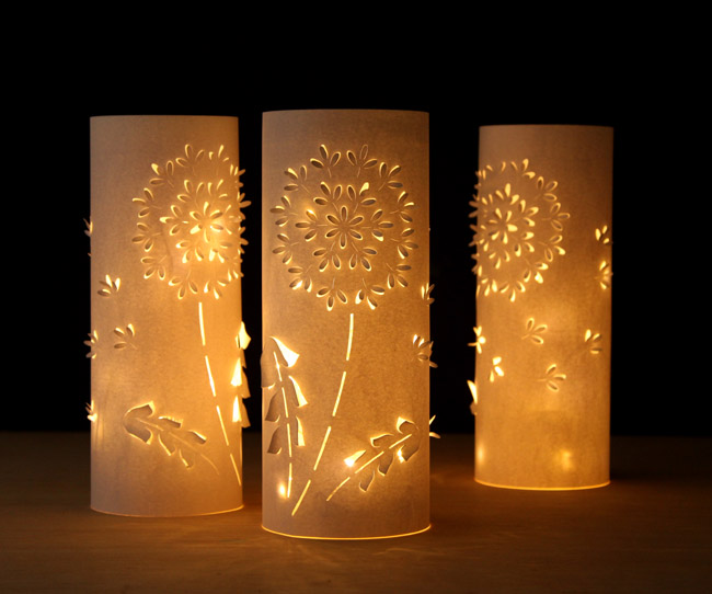 20 Delightful Diy Candle Holders And Luminaries Mum In