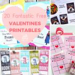 20 Free Valentines Printables