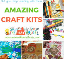 Great Craft kits for Boys