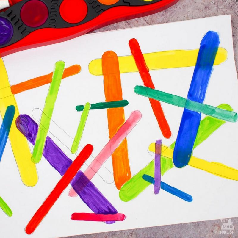 Craft Stick Process Art