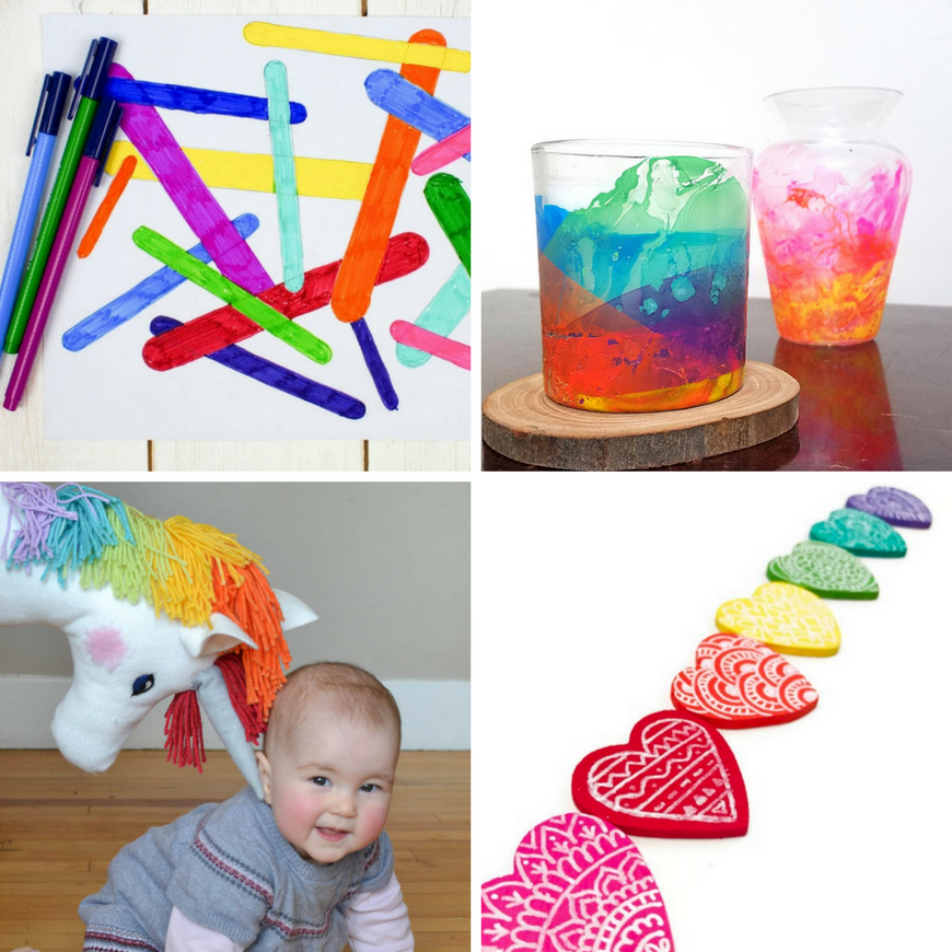 Rainbow Crafts And Activities For Kids Mum In The Madhouse