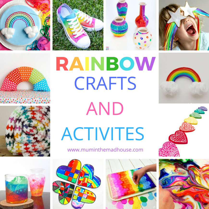 Rainbow Crafts and Activities for Kids