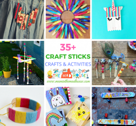 Craft Stick Crafts and Activities