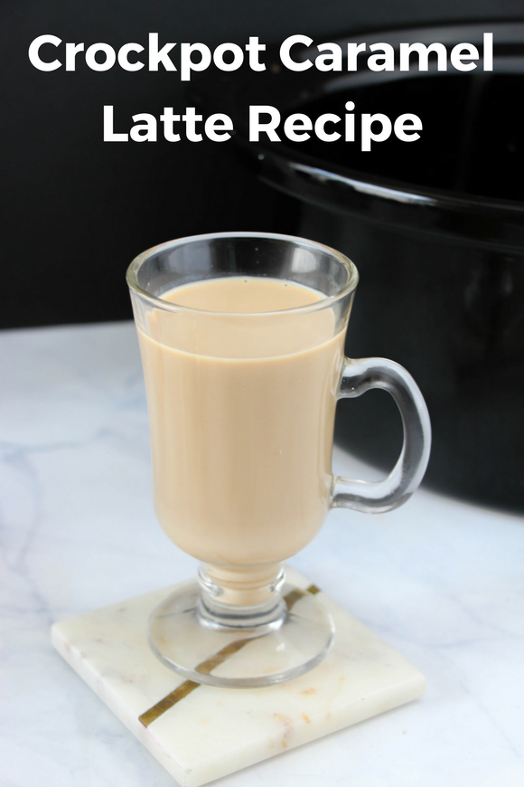 Coffee makes the world go round and this Crockpot Caramel Latte Recipe is simple to make in advance and is deliciously simple.