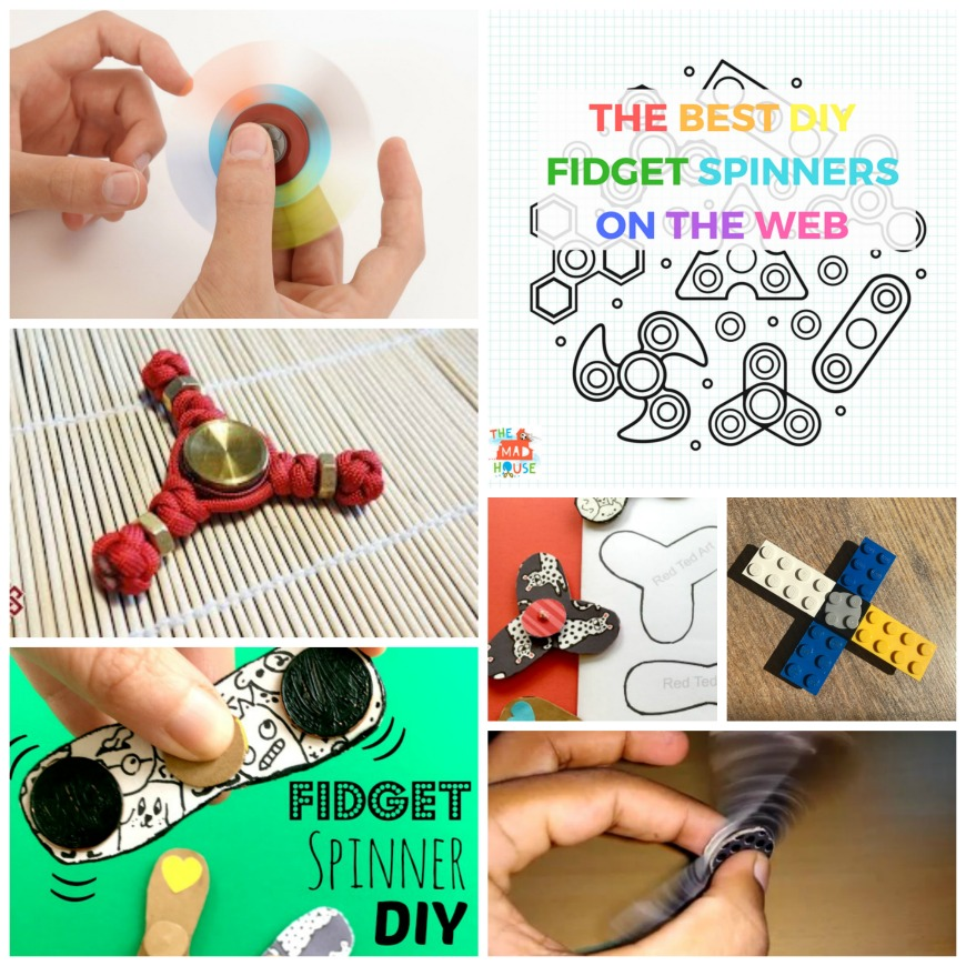 DIY LEGO Fid Spinners Mum In The Madhouse