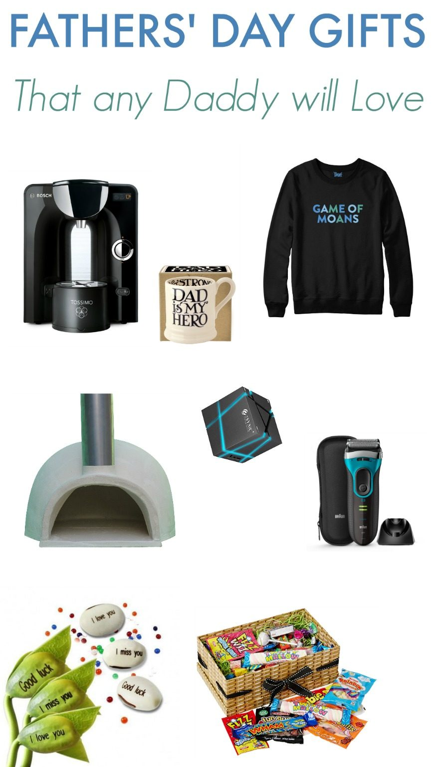 Fab Fathers Day Gift Ideas. We bribed the husband with some Malteezers and a cup of Columbian and this is the Fathers Day Gift Guide we came up with!