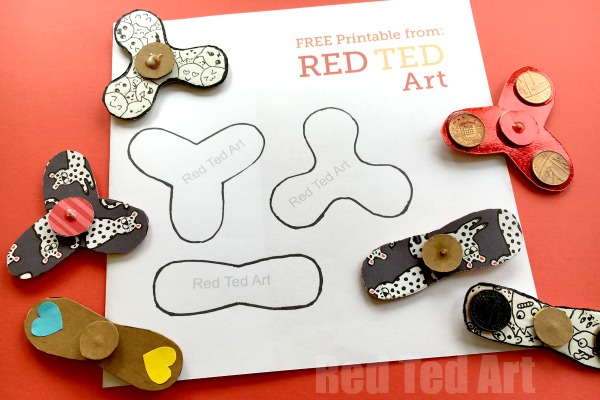 12 Of The Best Diy Fidget Spinners On The Web For Kids