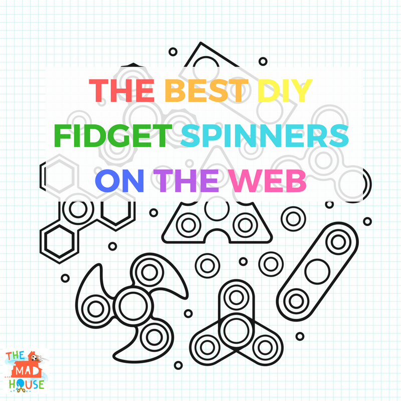 photo relating to Fidget Spinner Printable called 12 of the Simplest Do it yourself Fidget Spinners upon the world wide web for children - Mum