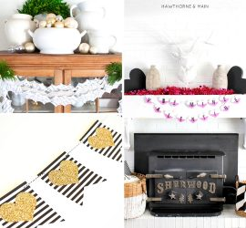 20 Beautiful and Free Printable Garlands