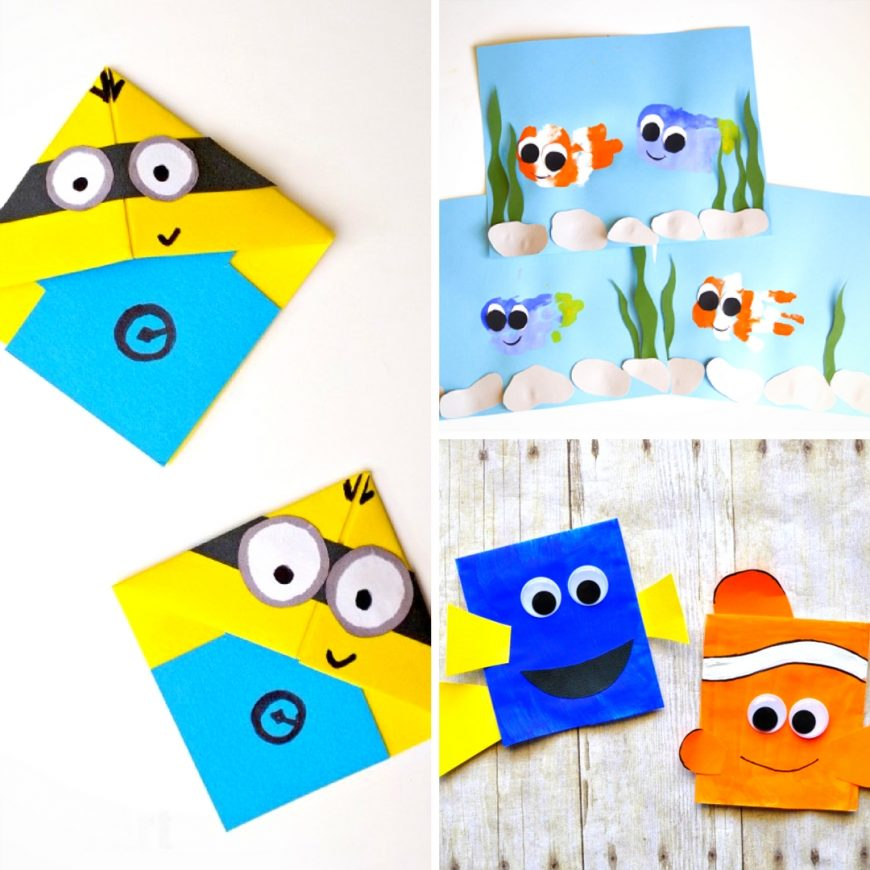 20 Cute and Easy to Make Disney Inspired Crafts