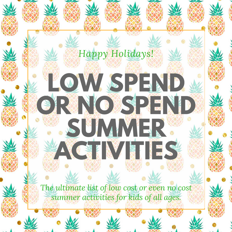 Over 150 low cost or no cost summer activities for kids of all ages. Things to do, places to go, things to make, play and do and also to cook and bake.