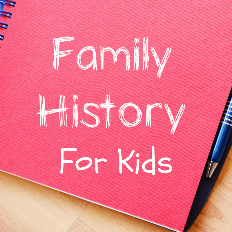 Family Heritage Activities for Kids