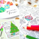Fun and Free Christmas Adult Colouring Pages