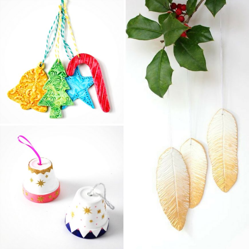 Festive and Beautiful Christmas Clay Crafts