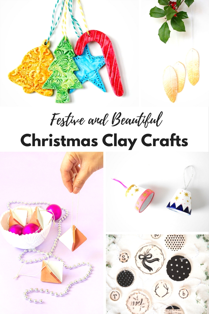 Christmas Air Drying Clay Crafts