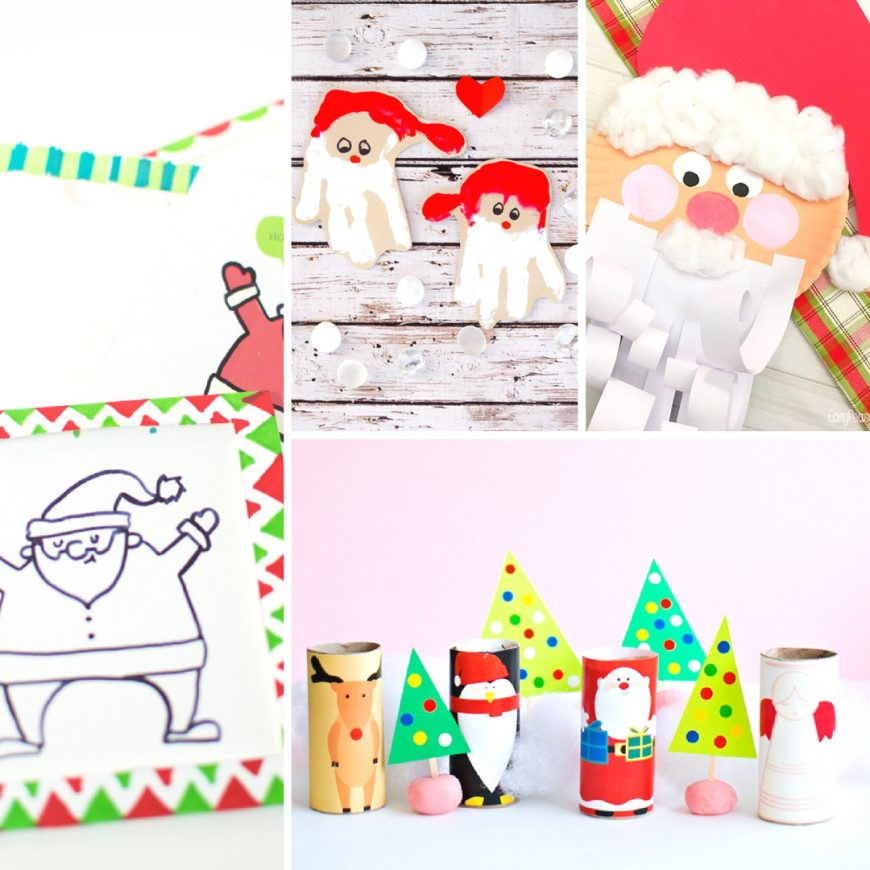 15 Adorable Christmas Crafts for Kids