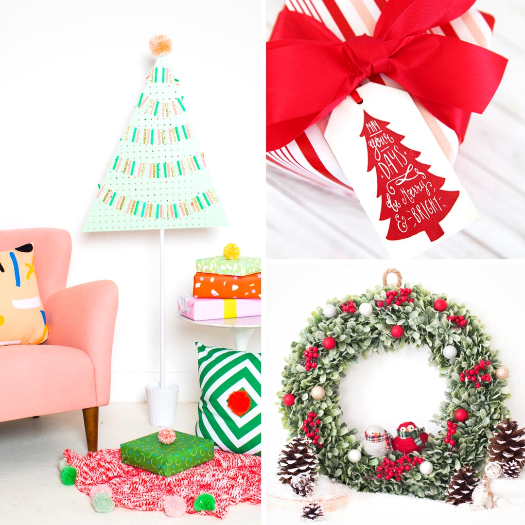 Tis The Season For Some Gorgeous DIY Christmas Crafts Including Wreaths Centrepieces Tags