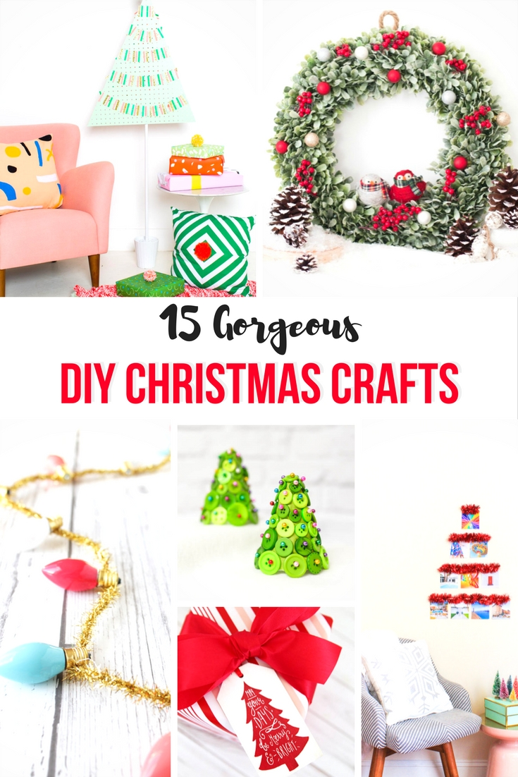 'Tis the season for some gorgeous DIY Christmas crafts including wreaths, centrepieces, tags and decorations to add a personal touch to this holiday season.