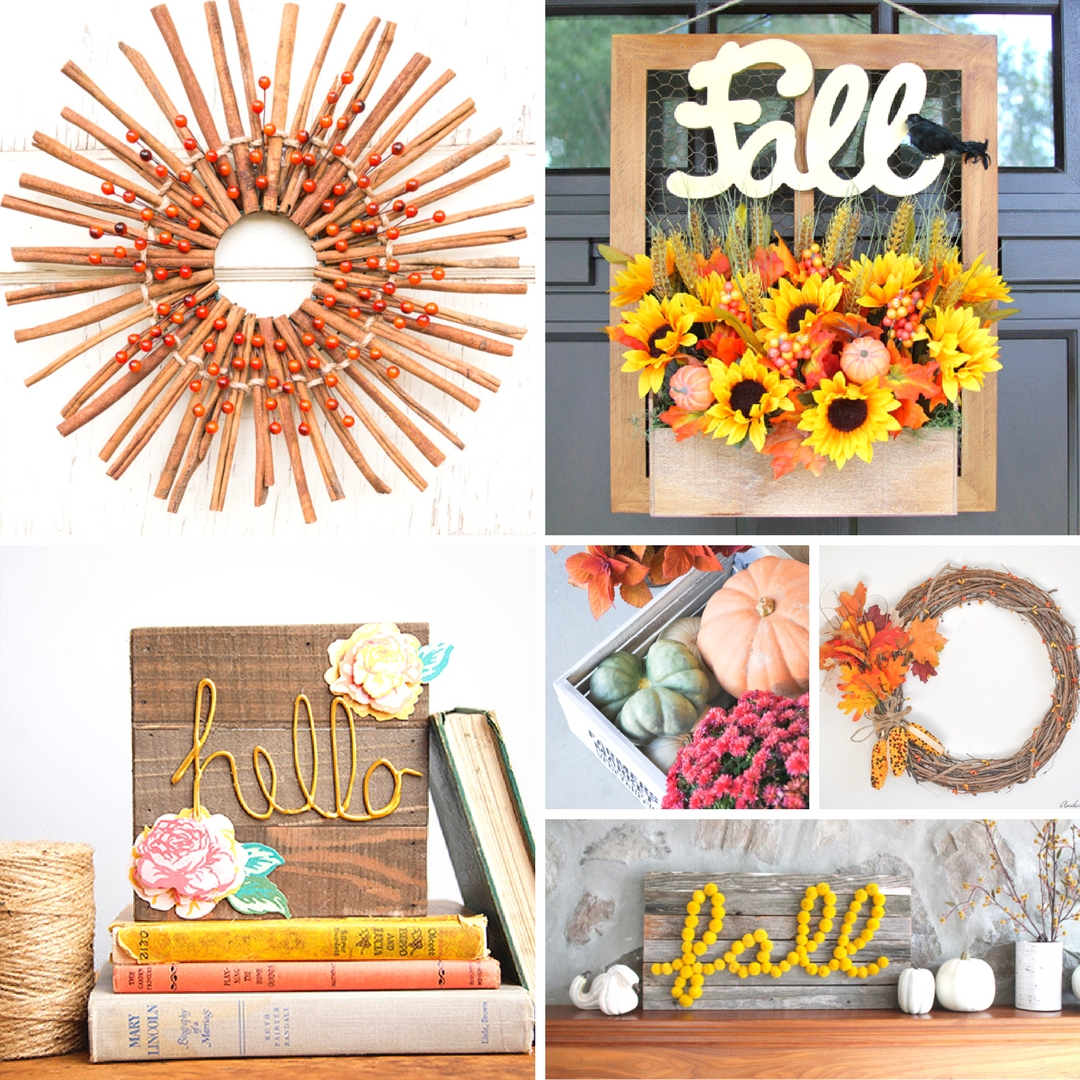 Creative diy fall craft ideas mum in the madhouse for Diy fall craft decorations