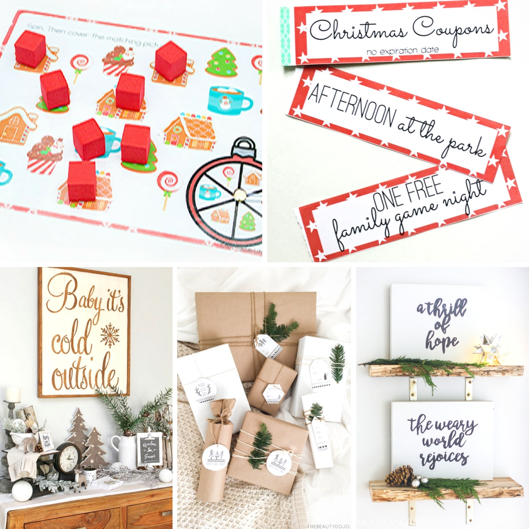 15 Free Printables for Christmas - Mum In The Madhouse