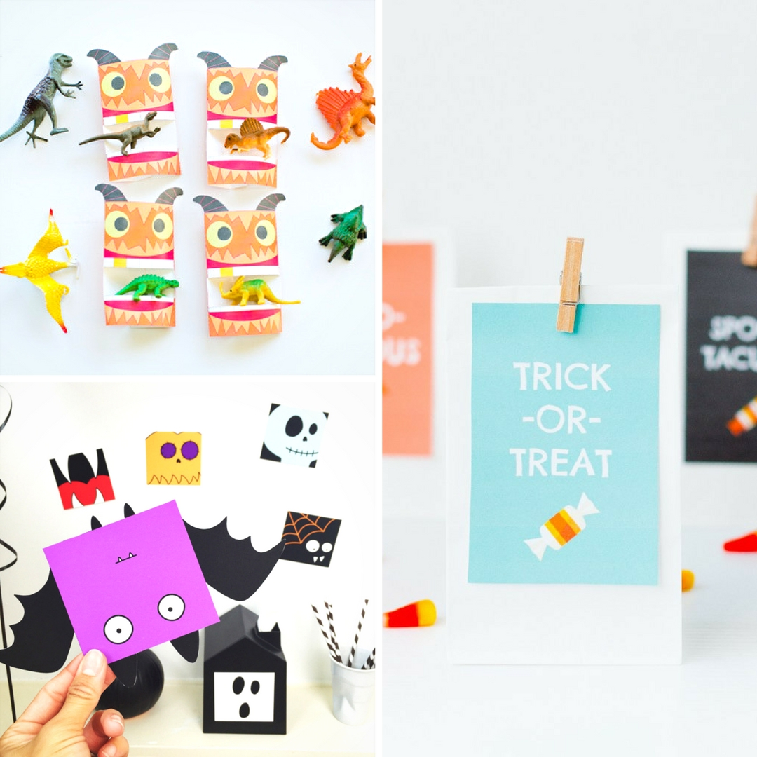 graphic about Printable Holloween Crafts identify Halloween crafts for little ones - Mum Inside The Madhouse