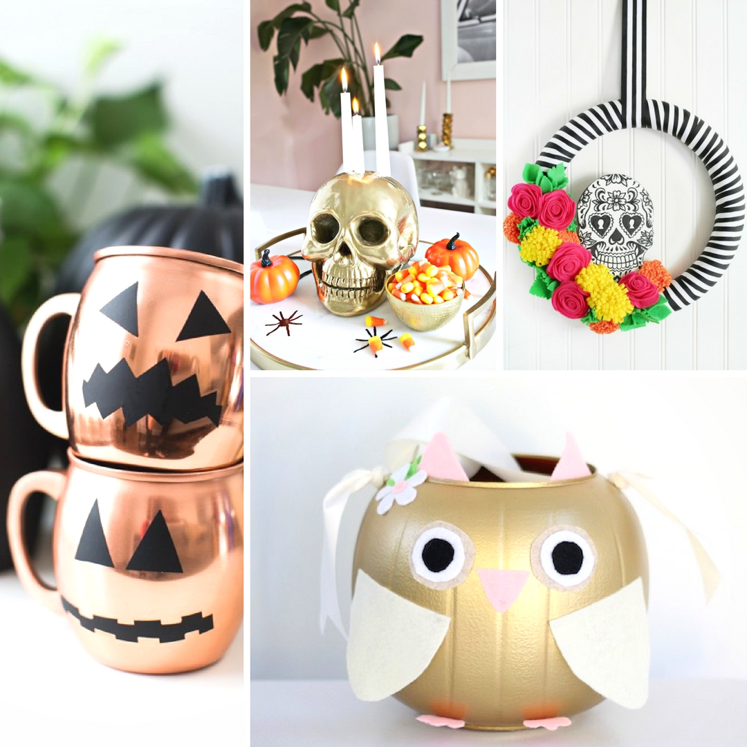 15+ Creative DIY Halloween Crafts - Mum In The Madhouse