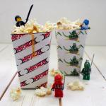 LEGO Ninjago Printable Popcorn Boxes