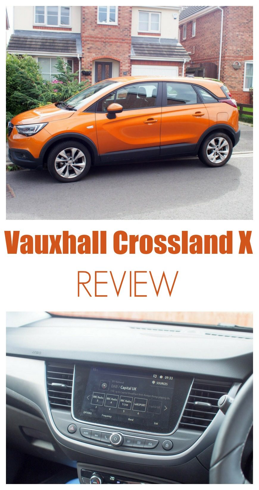 Find out what Mum in the Mad House and family thought of the Vauxhall Crossland X  with our Vauxhall Crossland X review 2017