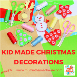 A Month of Kid-Made Christmas Decorations
