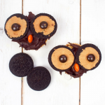 Peanut Butter flavour Oreo Owl Cupcakes – Cooking with kids