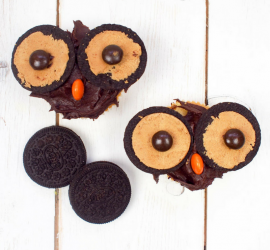 Oreo Owl Cupcakes - Cooking with kids