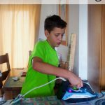 Five ways to encourage your teens to do the ironing