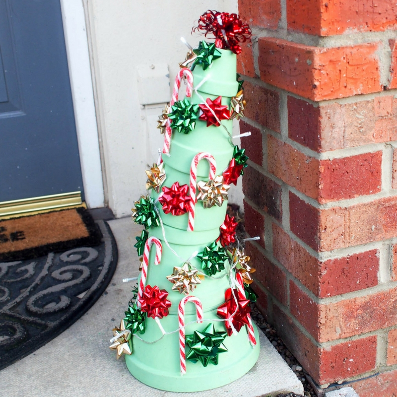 This fabulous Whoville Christmas Tree is inspired by the classic Dr.Suess How the Grinch
